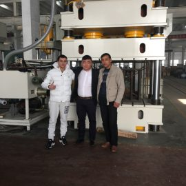 India Customers Visit Factories And Buy Punch Machines