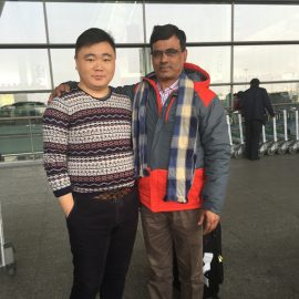 India Customers Who Visited Factories And Buy The Shearing Machine At The Airport
