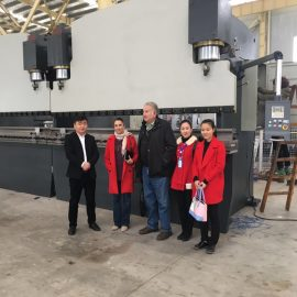 Poland Customers Visit Factories And Buy Press Brake Machines